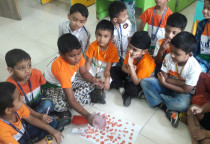 Tri Colour Activity(Sr.KG)