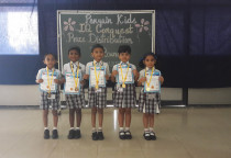 Winners Of IQ Conquest (Sr. KG)- Ist Shift & IInd Shift