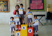 Winner Of Kite Making Competition(Nursery)