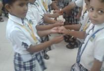 Rakhi Tieing Activity(Sr.KG)