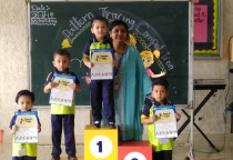 Winners Of Pattern Tracing Competition(Nursery)